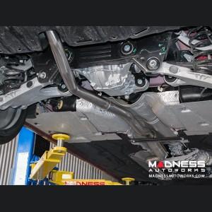 Alfa Romeo Giulia Performance Exhaust - 2.0L - MADNESS - Lusso - Carbon Fiber Tips