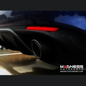 Alfa Romeo Giulia Performance Exhaust - 2.0L - MADNESS - Monza - Carbon Fiber Tips